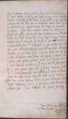 Letter from Elizabeth I