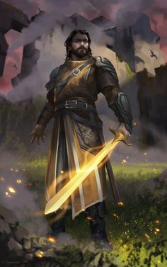 """weare holy paladin: """"light shield by Johnathan Chong"""" Dark Fantasy, Fantasy Male, Fantasy Armor, Medieval Fantasy, Male Character, Character Portraits, Fantasy Character Design, Dungeons And Dragons Characters, Dnd Characters"""
