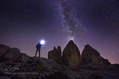 Contact  Tre cime di lavaredo in Italy  2017 Woosra KIM  Camera: Canon EOS 6D Lens: EF16-35mm f/2.8L USM  Join the Milky Way Group http://ift.tt/2sf2DTT and share your Milky Way creations or findings with the world! Image credit: http://ift.tt/2iPVtQe Don't forget to like the page or subscribe for more Milky Imagery!  #MilkyWay #Galaxy #Stars #Nightscape #Astrophotography #Astronomy