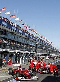 Ferrari y la táctica del 'catenaccio'