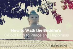 """I've found that people are often surprised to hear that Buddhism is really about finding happiness. That the Buddha's teachings aren't about """"everything is suffering"""" and rather are about showing you the path to transform suffering, uncover the truth, and realize true peace and happiness. I shouldn't be surprised though, my path wasn't any different....[Clicktocontinue]"""