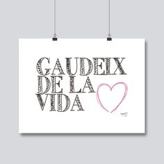 Gaudeix de la vida. Bymots Positive Quotes For Life, Life Quotes, Mr Wonderful, Take A Break, Hama Beads, Mini Albums, Texts, Projects To Try, Mindfulness