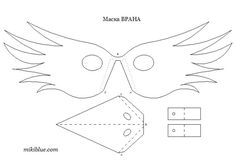 Bird mask DIY.the project for engineer of Toyota for the