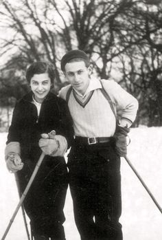 Miklos Radnoti and his wife, Fanni Heart Of Europe, Writers And Poets, Vintage Winter, Play Soccer, Big Love, Vintage Travel Posters, The Martian, Great Books, Budapest