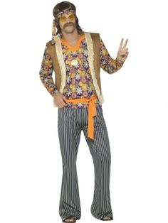 male halloween costumes christmas costumes male Brown and Orange Style Singer Men Adult Halloween Costume - Small Hippie Fancy Dress Costume, Adult Fancy Dress, Halloween Fancy Dress, Adult Halloween, Christmas Costumes, Halloween Costumes, Halloween Party, Halloween 2019, Singer Costumes