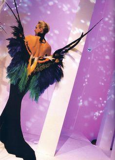 Thierry Mugler fashion show, 1997