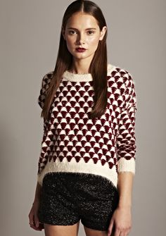 AW12  www.fashionunion.com Christmas Sweaters, Outfit Ideas, Blouse, Womens Fashion, Outfits, Beauty, Tops, Suits, Christmas Jumper Dress