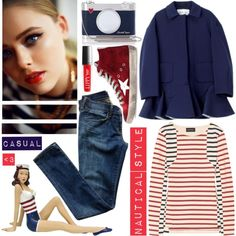 """NAUTICAL STYLE"" by tiziana-melera on Polyvore"