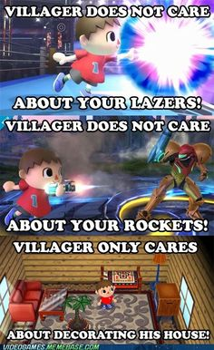 That's the Villager for you