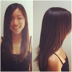 Long Layers. Round Layers. Asian Hair.