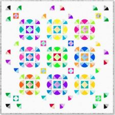 Free Pattern - Lola Quilt by Gina Gimpesaw
