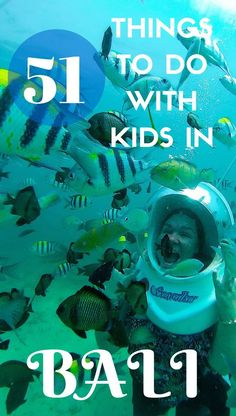 Are you travelling to Bali with kids? You're in the right place. In no particular order, here's our favourite things to do in Bali with kids - and remember this list is still just a small taste of what is available to do in Bali … FAMILY TRAVEL IN BALI, INDONESIA. Travel With Kids. Travel With Bender.