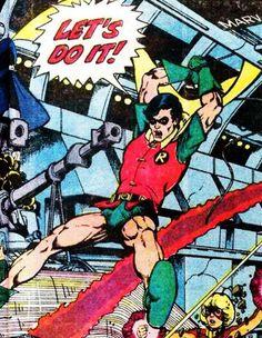 Teen Titans drawn by George Perez