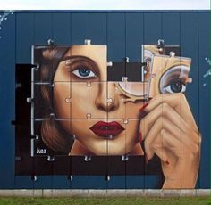 "Street Art ‏@GoogleStreetArt 26m26 minutes ago  Kas Art's new Street Art ""Piece of me"" in Aalst Belgium   #art #graffiti #mural #streetart"