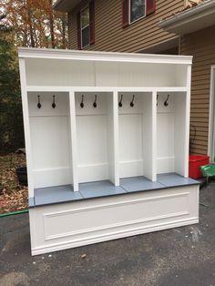 Toybox style mudroom locker by CMPFurniture on Etsy