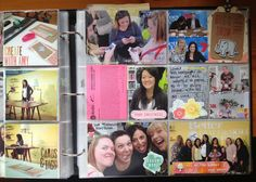 Gettin her craft on... One day at a time: Project Life Week 18 - Fun with Amy Tan