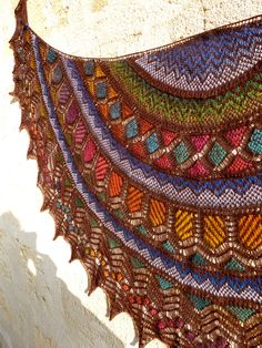 Ravelry: Doudoulina's Lotus Mystery (paid knitting pattern)