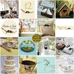 Charming Lovebird Themed Wedding Inspiration - Project Wedding