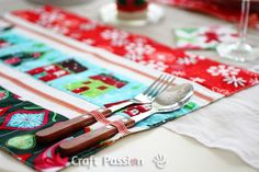 Placemats And Coasters | Free Pattern & Tutorial