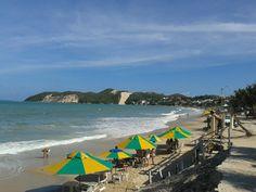 Eu sou da Cidade do Sol nordeste brasileiro Praia céu, azul, curto reggae o ano inteiro... Rio Grande Do Norte, Four Square, World, City, Beach, Blue Skies, Islands, The Beach, Viajes