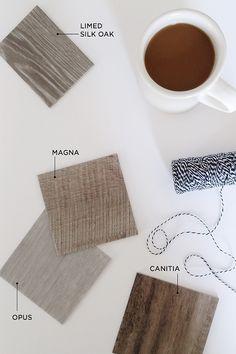 Karndean wood designed luxury vinyl flooring in Limed Silk Oak. A beautiful durable gray hardwood designed flooring.