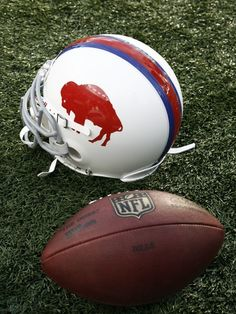 Buffalo Bills Throwback Helmet
