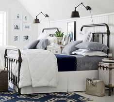 nice What You Should Do About Twin Bedroom Starting in the Next 15 Minutes Bear in mind, girls equally as easy to please and equally as tough to create hap. Guest Bedroom Decor, Small Room Bedroom, Guest Bedrooms, Master Bedroom, Master Suite, Guest Room, Bedroom Ideas, Kids Bedroom Furniture, Home Furniture