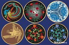 Round ornaments.Part 2