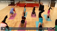 Yoga in 10: Energize