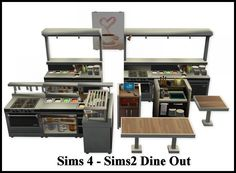 I don't really do Follower Gifts but I do like to show my appreciation to you all, so I thought this would be one way of doing it! Part 1: Sims 4 - Sims 2 Dine Out Conversions (although it's not all...