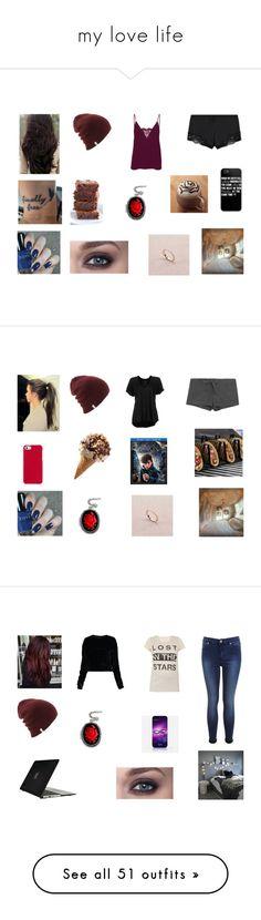 """my love life"" by fallen-326 on Polyvore featuring La Perla, Couture by Lolita, Vero Moda, Polo Ralph Lauren, Free People, Improvements, Bodas, art, Eberjey and Twenty"