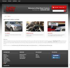 Web design & development for an e-commerce build