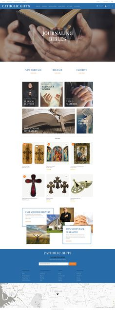 OpenCart Template , Catholic Gifts
