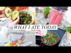 WHAT I ATE TODAY | Healthy & Easy (Vegan) | Annie Jaffrey - YouTube