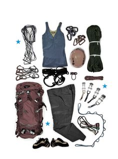 Place this Trad Climbing gear kit on you and into some untouched rock and make it to the top in style! From Moosejaw: Rock Climbing Gear, Climbing Wall, Survival, Adventure Gear, Hiking Gear, Camping Gear, Mountain Climbing, Patagonia Jacket, Extreme Sports
