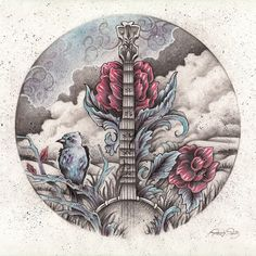 Banjo Art by Brady Scott!