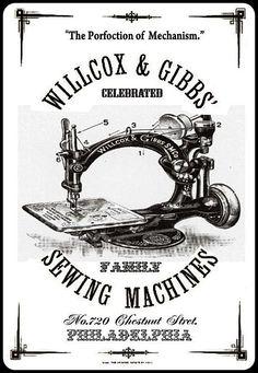 Màquina de coser Willcox & Gibbs