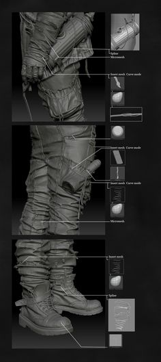 ::LINK:: making of detail: Postapocalyptic Character - Marcus - Page 5 #3d #sculpting #tutorials