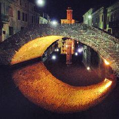 Riflessi a Comacchio - Instagram by ilary_mariani