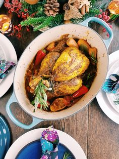 Lemon & Onion Roast Chicken. Add African warmth and spice to your Christmas Feast with my recipe for a Senegalese inspired roast.