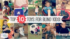 We recently ran a contest asking families to share their favorite toys for their kids who are blind or have other special needs. Here are the top 10 as voted on by WonderBaby readers!