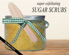 Sugar scrub is the most natural and effective way to exfoliate and soften skin. Sugar has fine texture that gently...