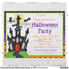 Haunted House Halloween Party