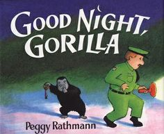 Speech Therapy with Miss Nicole: Goodnight Gorilla Activity