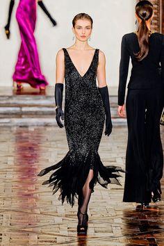 Andreea Diaconu   Ralph Lauren F/W 2012 New York