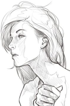 Character Sketch / Drawing Illustration / i like this pose i might try and draw… Character Sketches, Character Design, Drawing Sketches, Art Drawings, Sketching, Face Sketch, Sketch Art, Sketches Of Girls Faces, Art Du Croquis