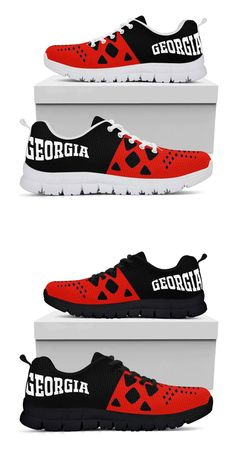 best sneakers e8f3d aa689 Georgia Bulldogs Colors - Running Shoes Sport the Georgia Bulldogs colors  while you train to take