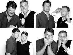 Nathan Fillion and Alan Tudyk