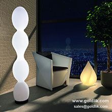 Nice looking boom shape LED floor light, and for more info plz visit http://goldlik.com/LedFurniture-LedFloorLight.html