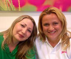 Ludmilka a Editka po liftingovej kúre - s ľahkým nalíčením - odchádzali nadšené :)